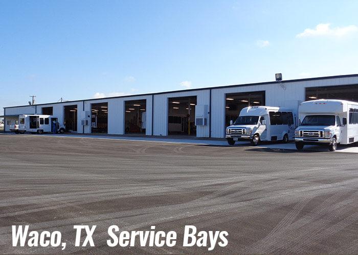 Waco, Texas Service Bays & Buses for Sale
