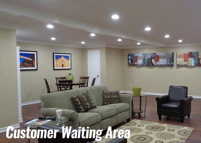 Waco, Texas Waiting Area