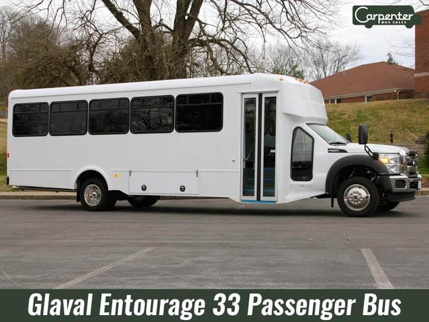 glaval entourge 33 passenger bus