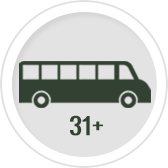 full inventory of low mileage large tansit buses and passenger buses