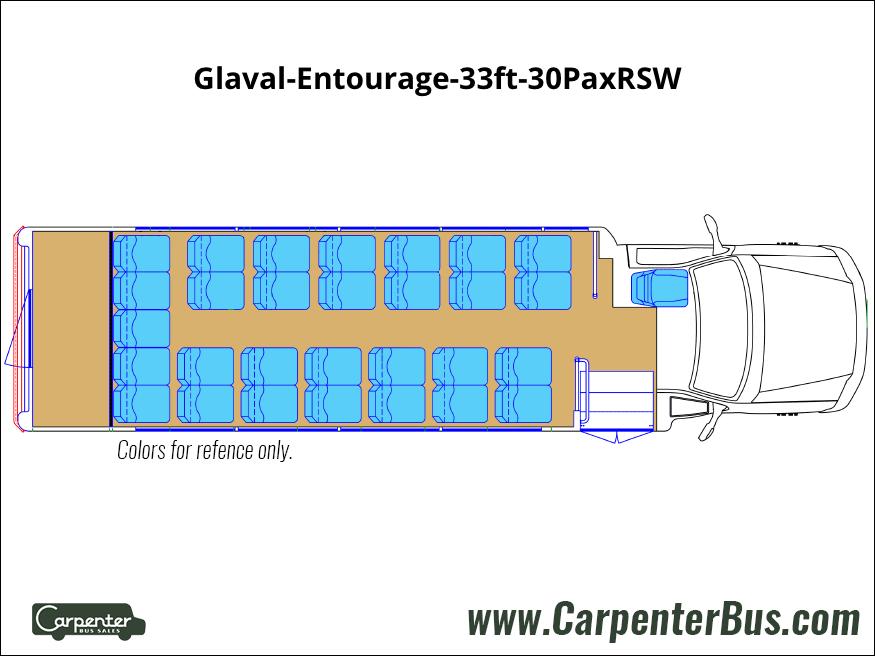Glaval Entourage 33ft 30PaxRSW