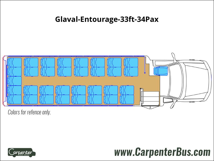 Glaval Entourage 33ft 34Pax