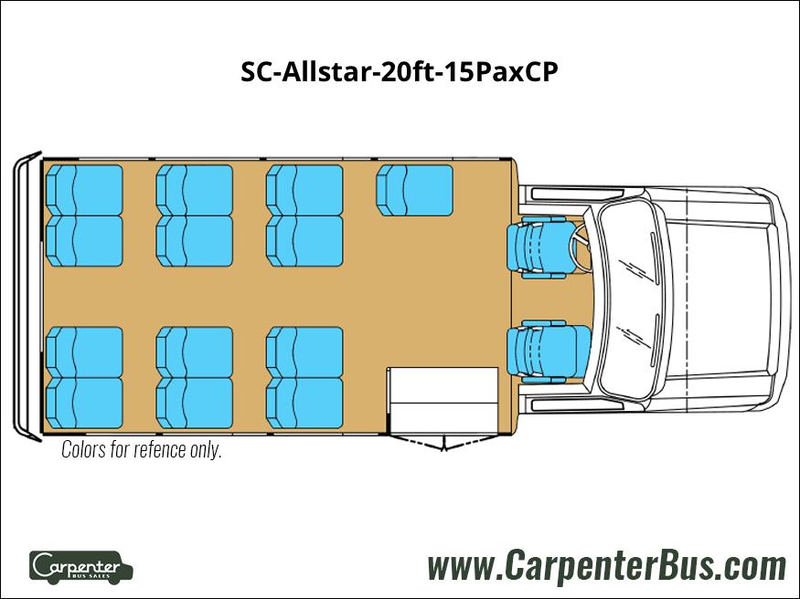 SC Allstar 20ft 15PaxCP