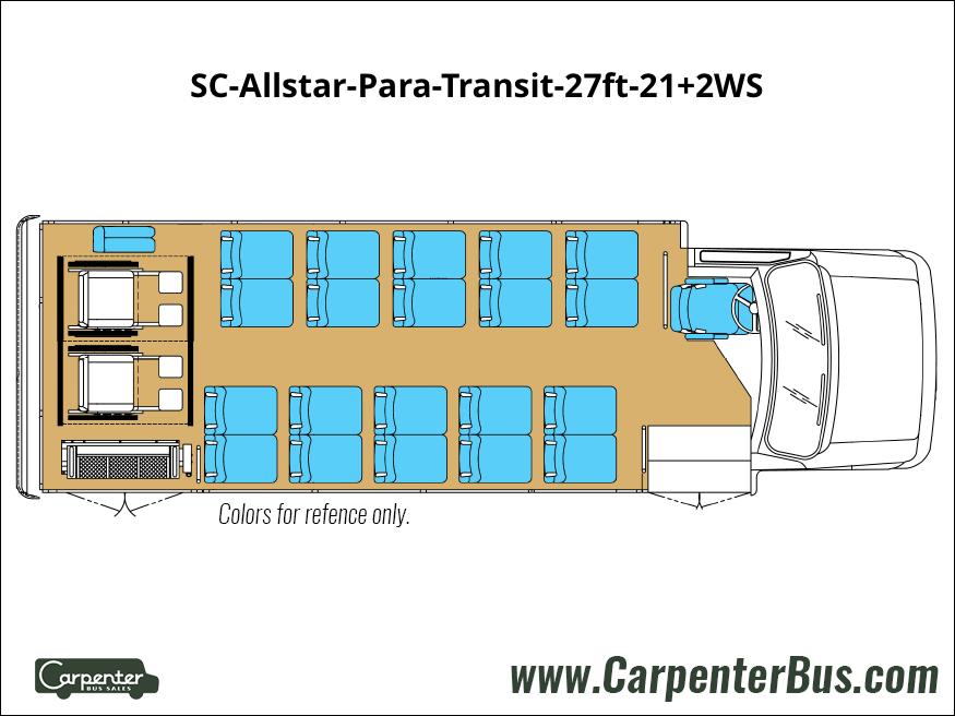 SC Allstar Para Transit 27ft 21 2WS