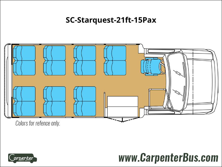 SC Starquest 21ft 15Pax
