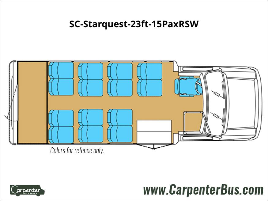 SC Starquest 23ft 15PaxRSW