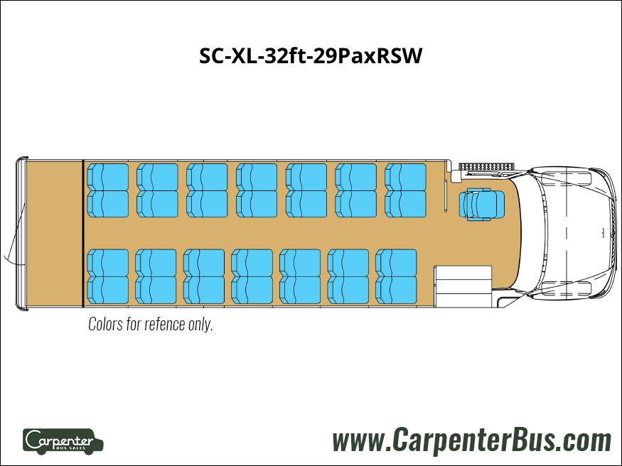 SC XL 32ft 29PaxRSW