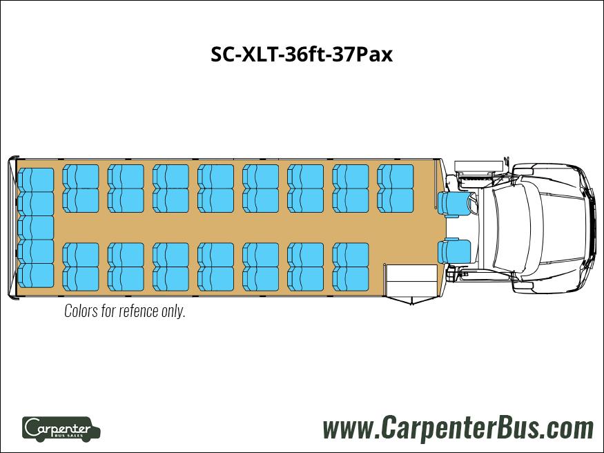 SC XLT 36ft 37Pax