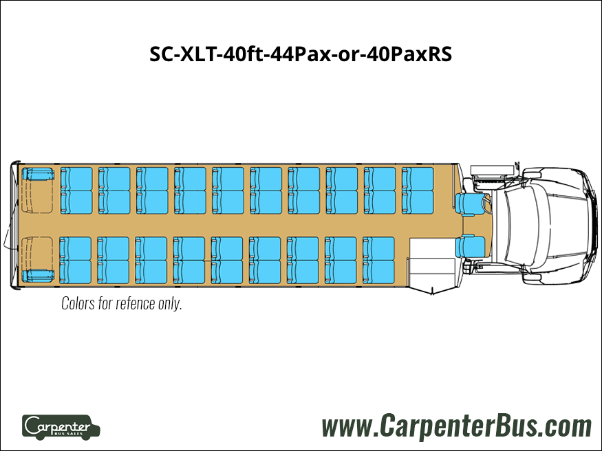SC XLT 40ft 44Pax or 40PaxRS