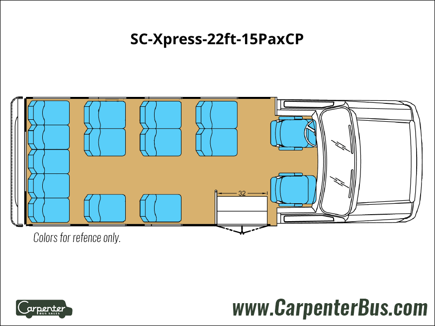 SC Xpress 22ft 15PaxCP