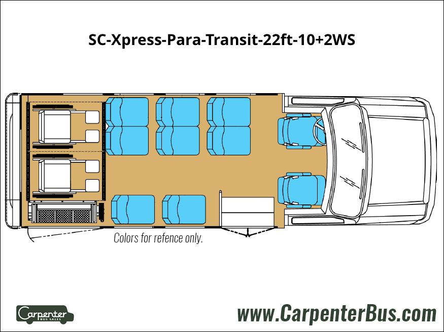 SC Xpress Para Transit 22ft 10 2WS