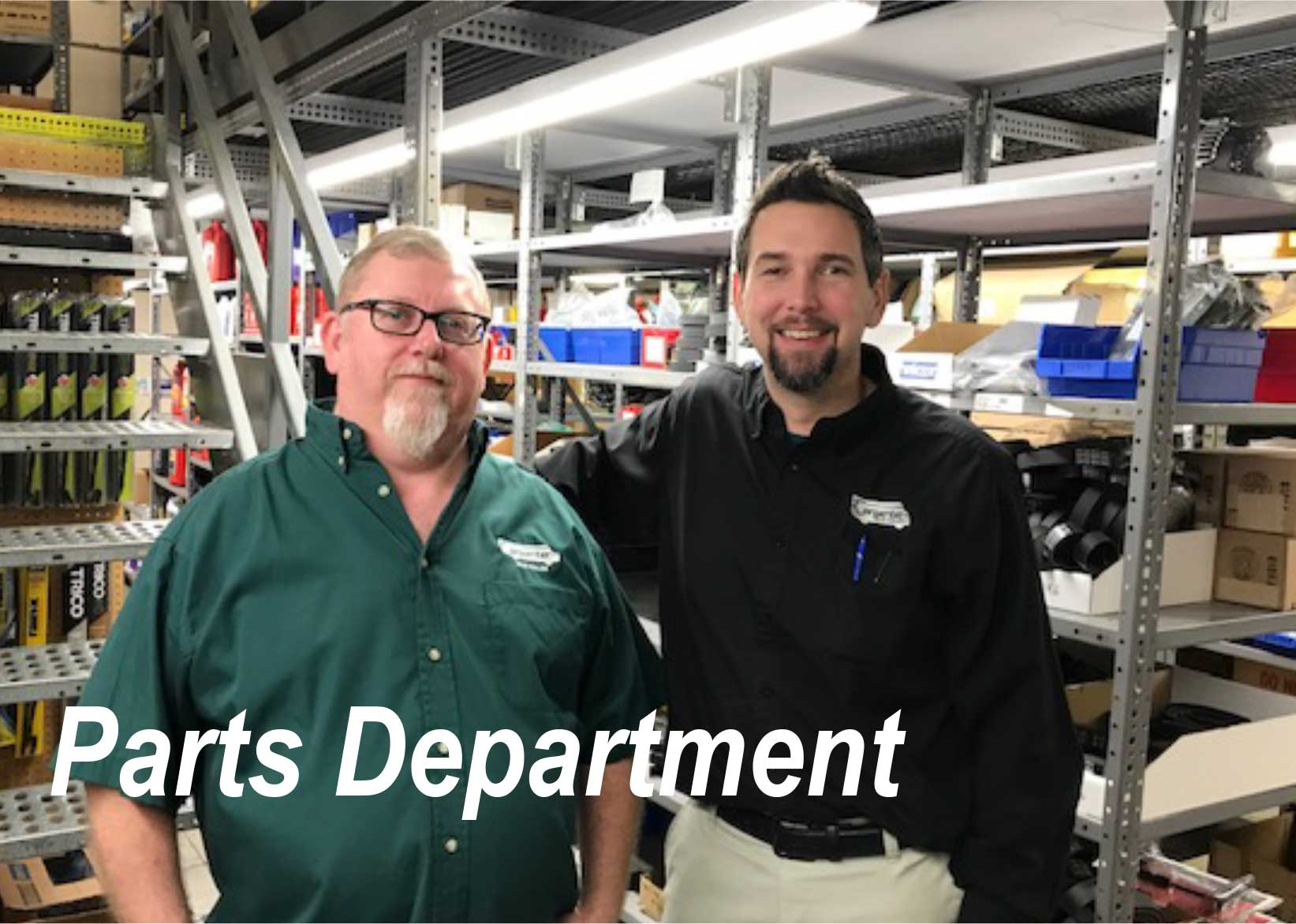 Franklin, Tennessee Parts Department